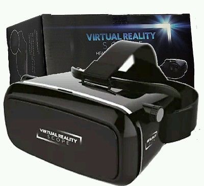 55d3262bfd64 Virtual 3D reality scope headset for smartphones with 360 degree view xmas  gift
