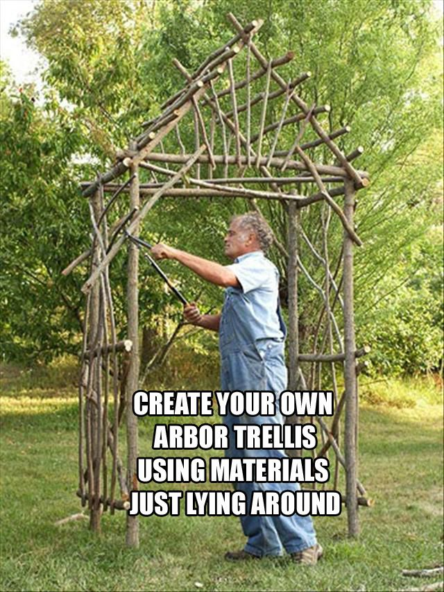 20 do it yourself spring time ideas arbors trellis arbors and 20 do it yourself spring time ideas solutioingenieria Images