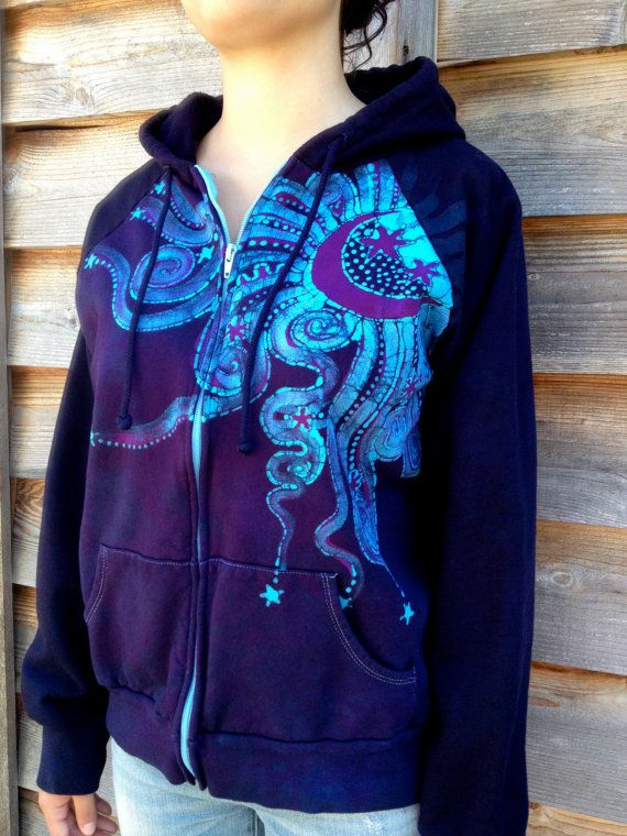 size XXL. Handmade cotton jacket