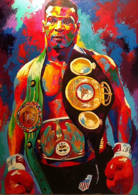 Mike Tyson Boxer Boxing Sports Posters Canvas Printing Wall Decor Print Home Decor Printable Prints Sports Art Print Sports Art Poster Art