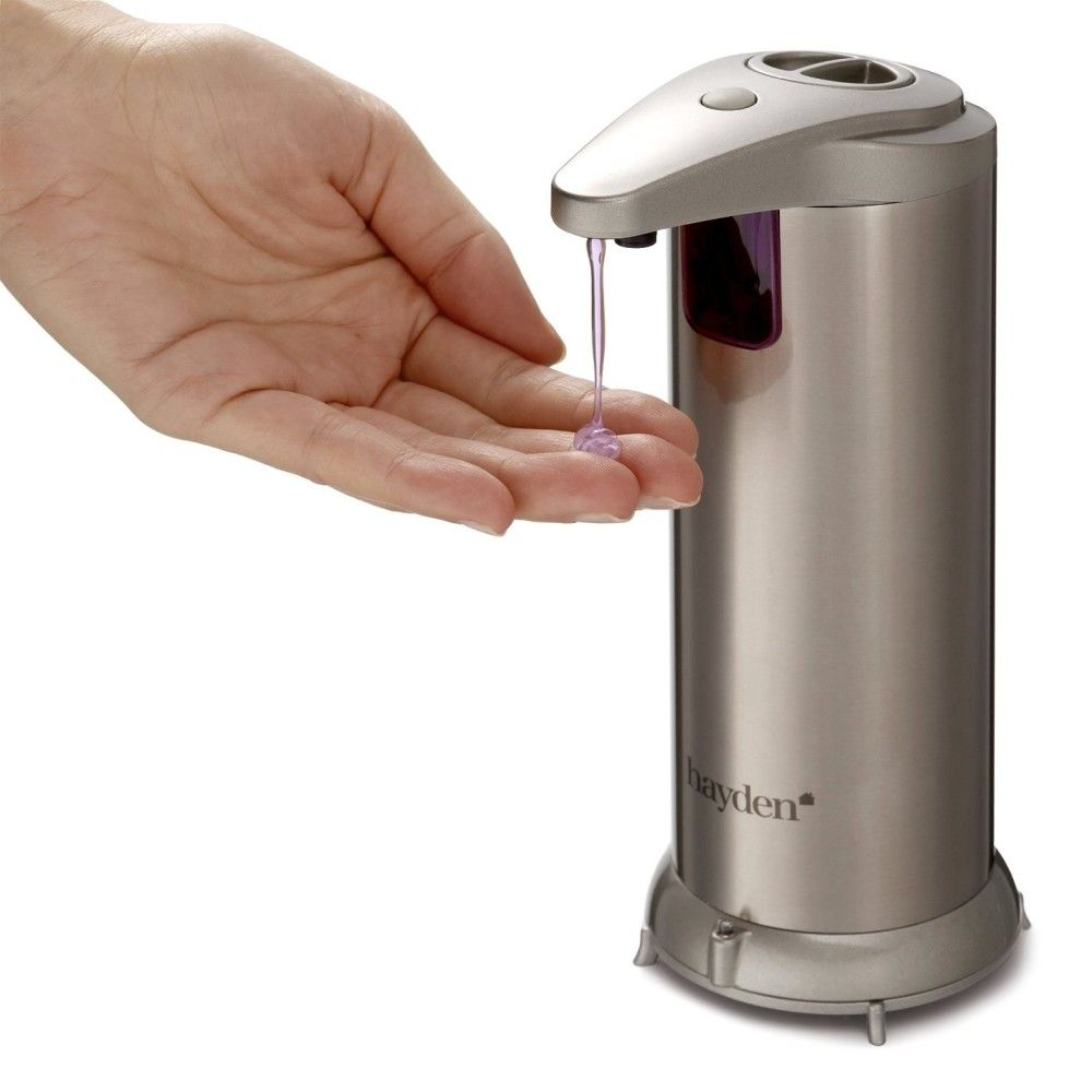An Automatic Soap Dispenser That Keeps Everything Germ Free