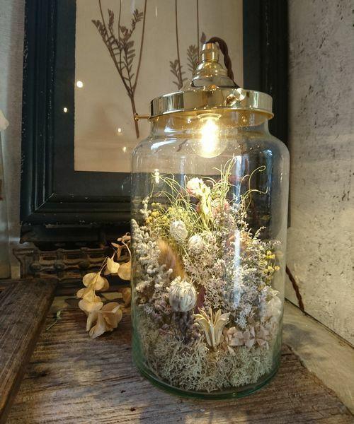 【ZOZOTOWN 送料無料】m.soeur(エムスール)の照明「flower bottle light*(フラワーボトルライト/大太)」(1284)を購入できます。