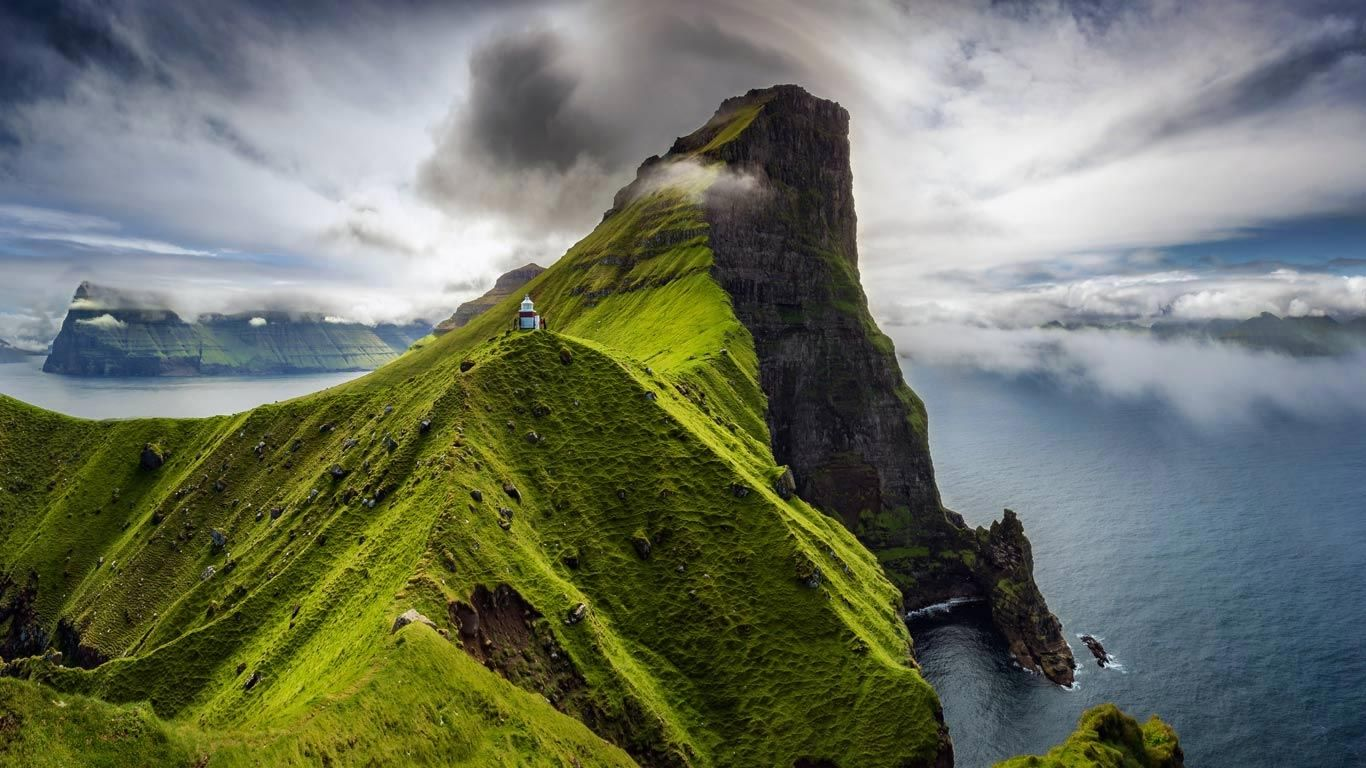Kallur Lighthouse Kalsoy Island Faroe Islands With Images