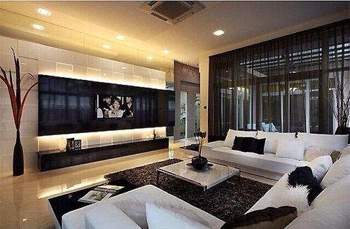 Image Via We Heart It Beautiful Design Interior Lux Relax Rich Room Tv Living Room Design Modern Living Room Interior Room Interior Design