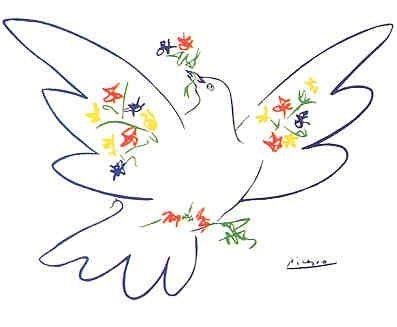 Picasso's Peace Dove