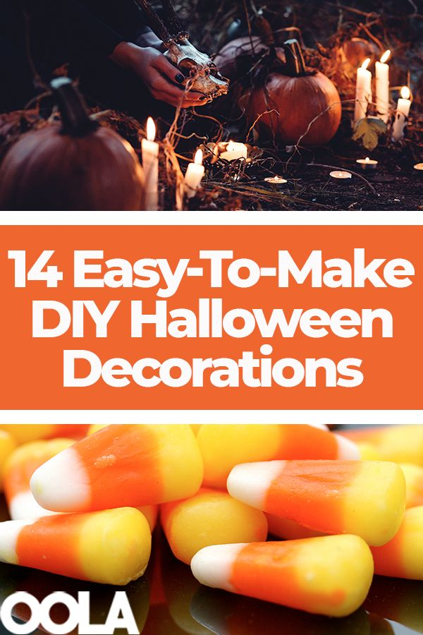 14 Easy-To-Make DIY Halloween Decorations Halloween Pinterest - make halloween decoration