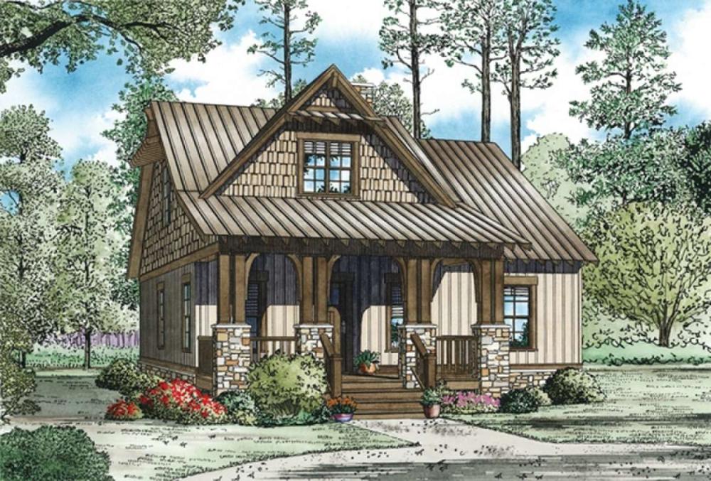 Craftsman House Plan 110