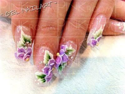 3D nail art   Gel Nail Art & 3D Gel Art.. \(^.^)/
