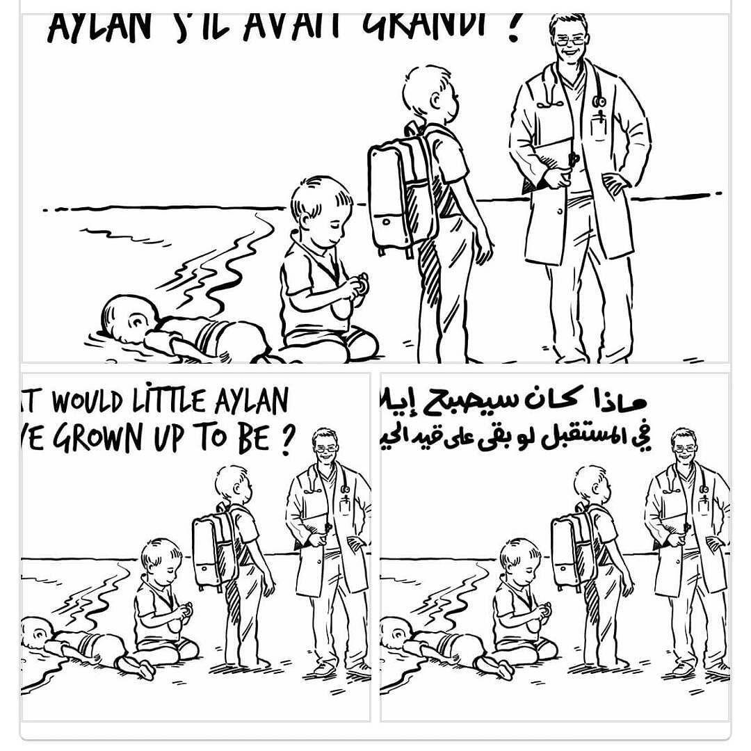 #aylankurdi #aylan #queenrania #queen_rania #charliehebdo