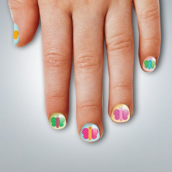 Simple And Cute Nail Art Designs For Little Girls Hair Beauty