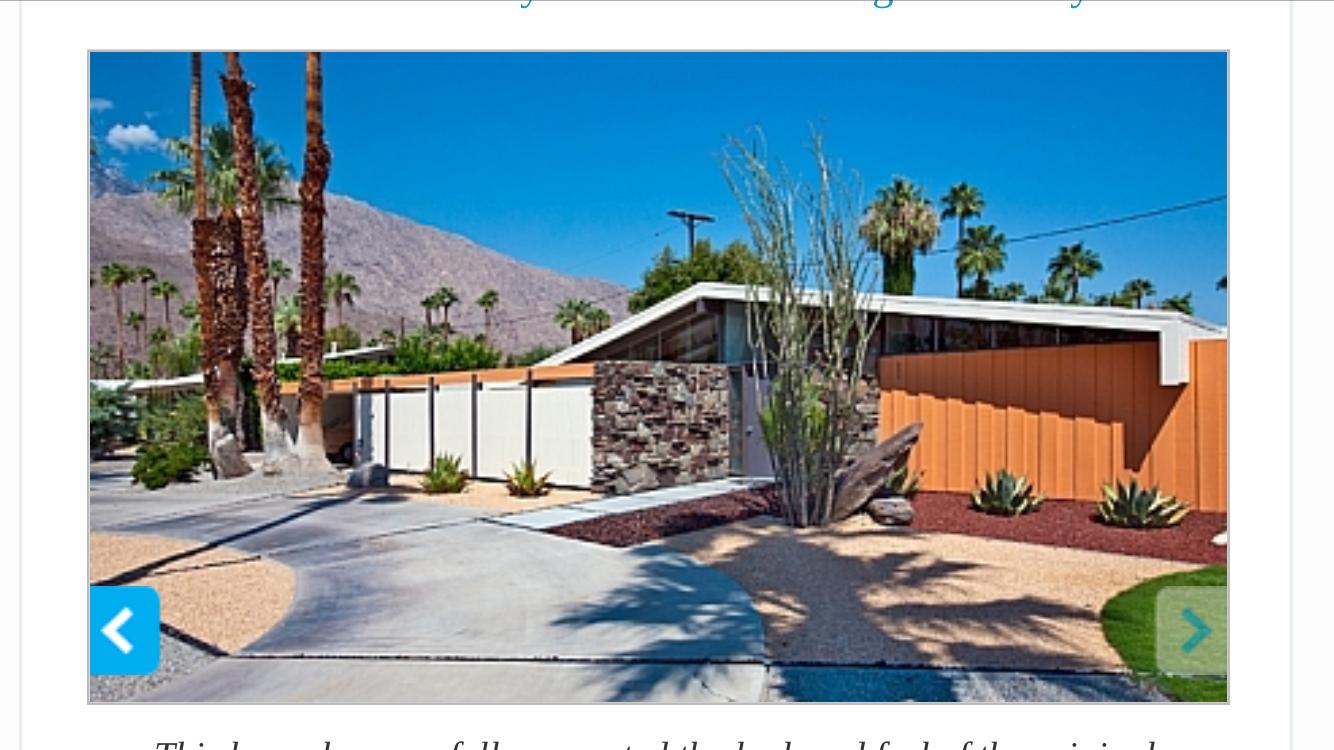AuBergewohnlich Haus Lackfarben, Palm Springs, Moderne Häuser, Pool Spa, Mitte Des  Jahrhunderts