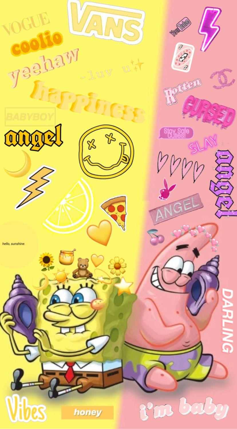 Evelynonearth Profiles Cartoon Wallpaper Iphone Spongebob Iphone Wallpaper Spongebob Wallpaper