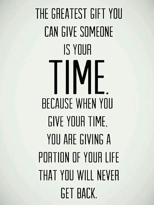 The greatest gift you can give someone\u2026 Love Pinterest Wisdom