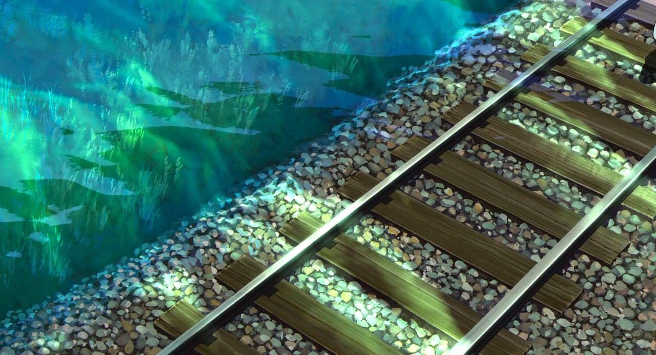 Escenarios Ghibli: Viaje a Fondo del Pantano, en 'El viaje de Chihiro' (Hayao Miyazaki, 2001).