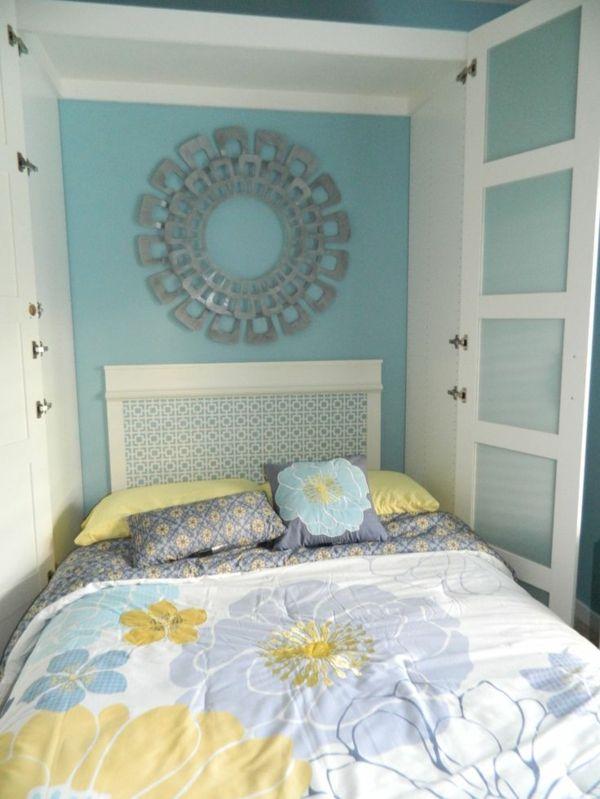 wohnen vintage schrankbett selber bauen klappbett holz m bel pinterest schrankbett selber. Black Bedroom Furniture Sets. Home Design Ideas