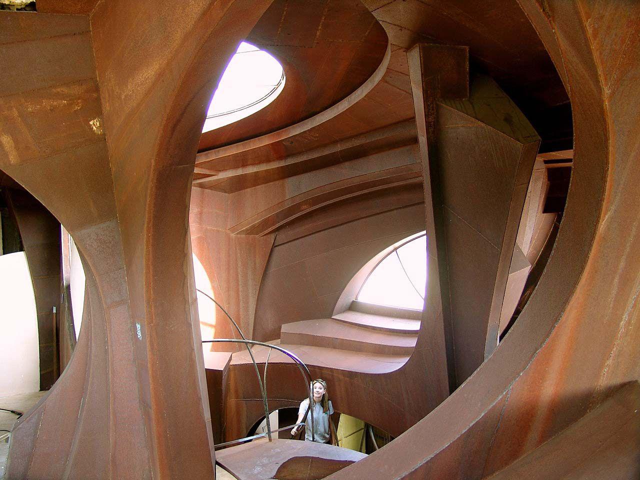Iron Sculpture House (Copyright Robert Bruno) Steel