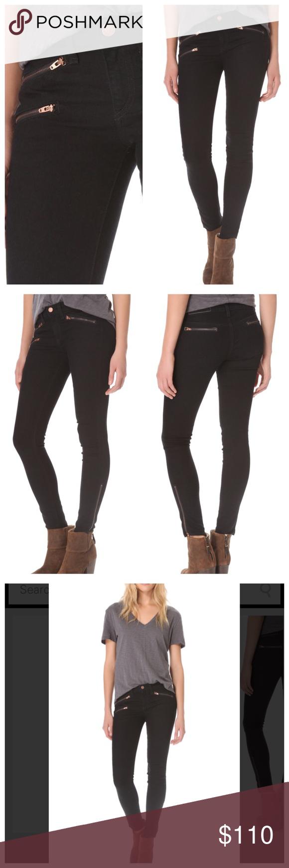 Rag & Bone Skinny Moto Jeans NWOT Rag & Bone Skinny Moto Jeans NWOT rag & bone Jeans Skinny