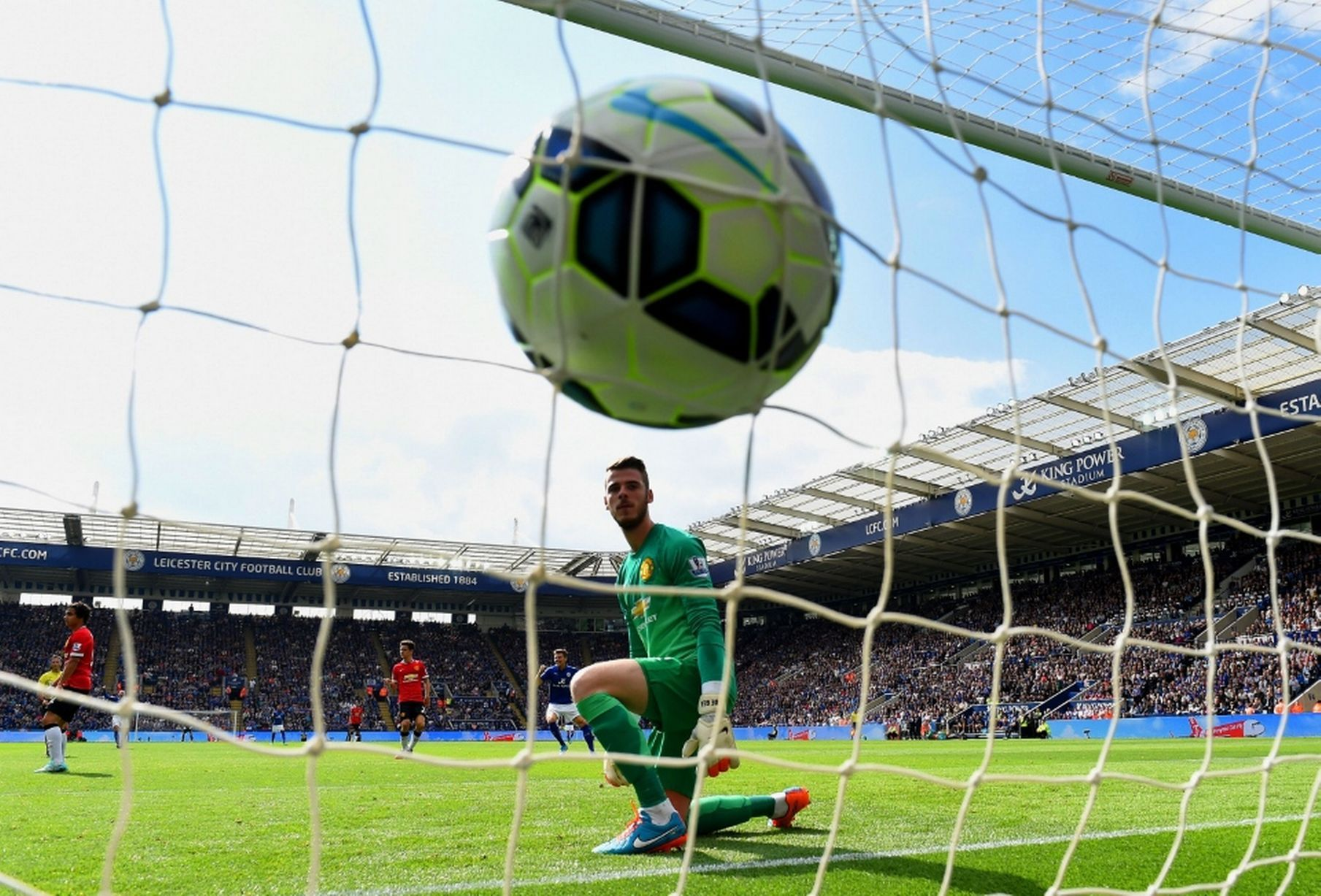 Leicester City 5 3 Manchester United Match Report Premier League Soccer Leicester City Soccer