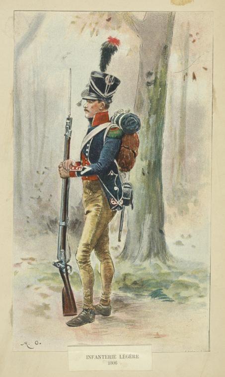 Light Infantry Regiment Elite Co. 1806