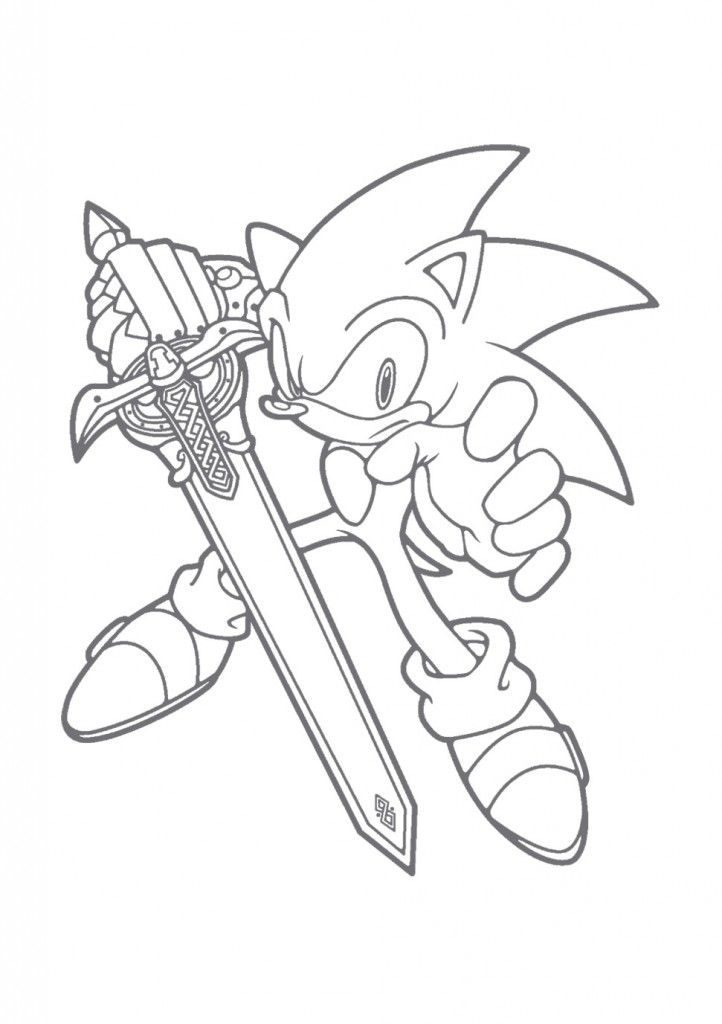 Free Printable Sonic The Hedgehog Coloring Pages For Hedgehog Colors Cartoon Coloring Pages Coloring Books