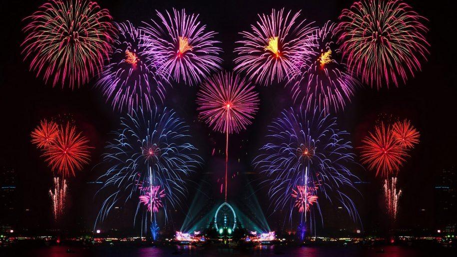 Happy New Year New Years Eve Fireworks In Australia Desktop Wallpaper Hd 1920 1200 New Year Wallpaper New Years Eve Fireworks Wallpaper