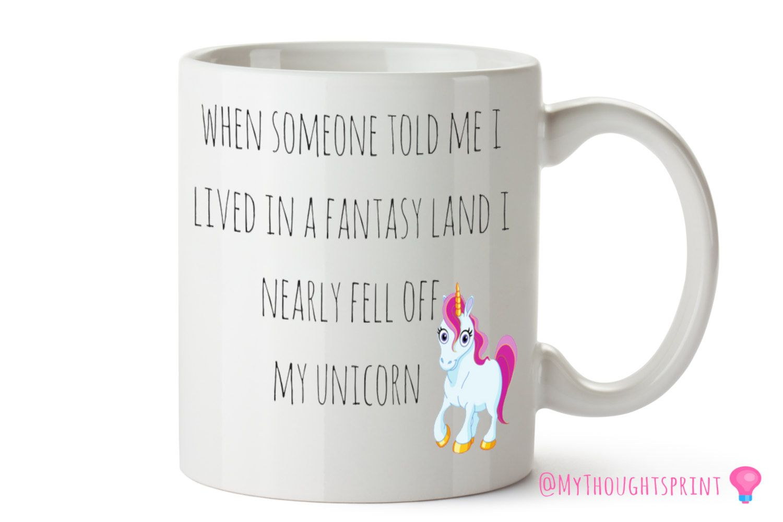 Unicorn gift, Unicorn mug, Funny Mugs, Funny Gift, Funny Gift ...