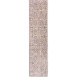 Photo of benuta Viskoseteppich Yuma Beige/Rosa 70×140 cm – Vintage Teppich im Used-Look benuta