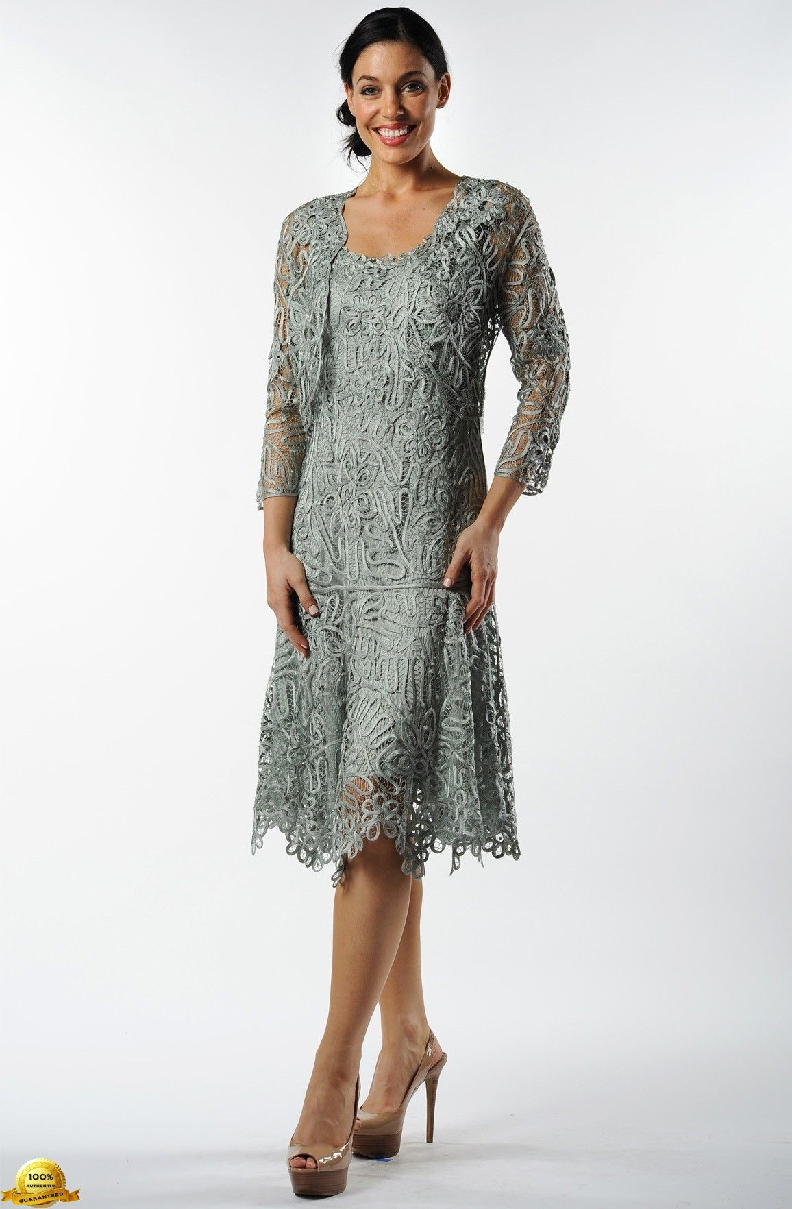 Fit and Flare Tea Dress orchid | ... Silk Lace Fit-n-Flare Tea ...