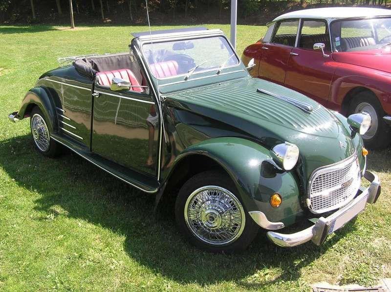 2cv Cabriolet Vert 2cv Citroen 2cv Voiture Citroen