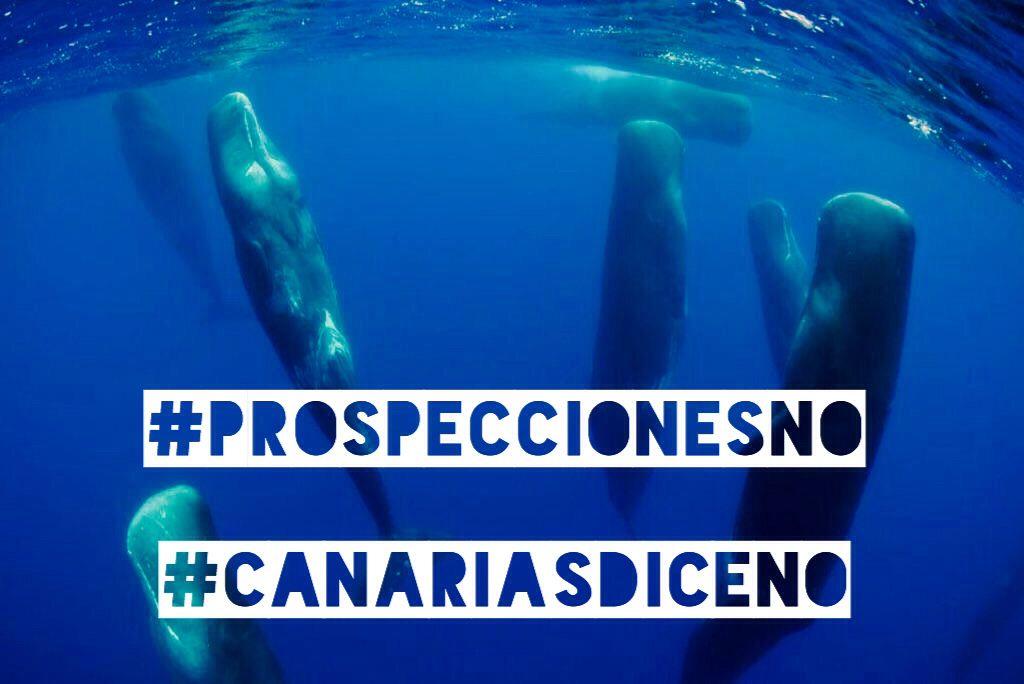 ❌❌ #ProspeccionesNO ¡#CanariasdiceNO!  #RePPsol #Canarias #Prospecciones #Greenpeace