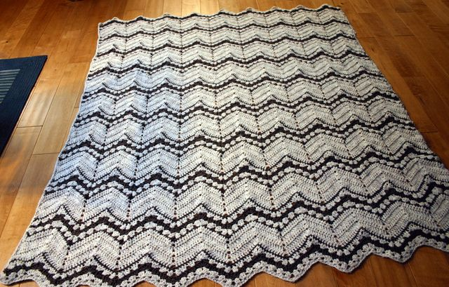 Inspiration :: Combination ripple afghan, by Peri Ann Michels ...
