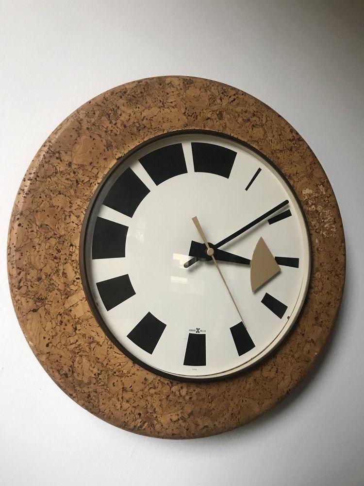 Details About Vintage Howard Miller Wall Clock George Nelson Arthur