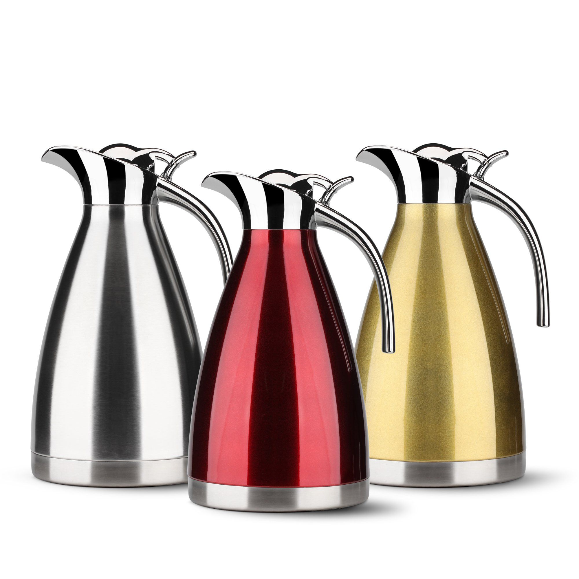 HOMKO Insulated Coffee Carafe 68 oz Stainless Steel