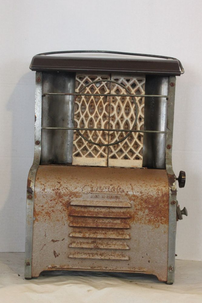 Coleman Canada Model 18 Radiant Heater Lanterns