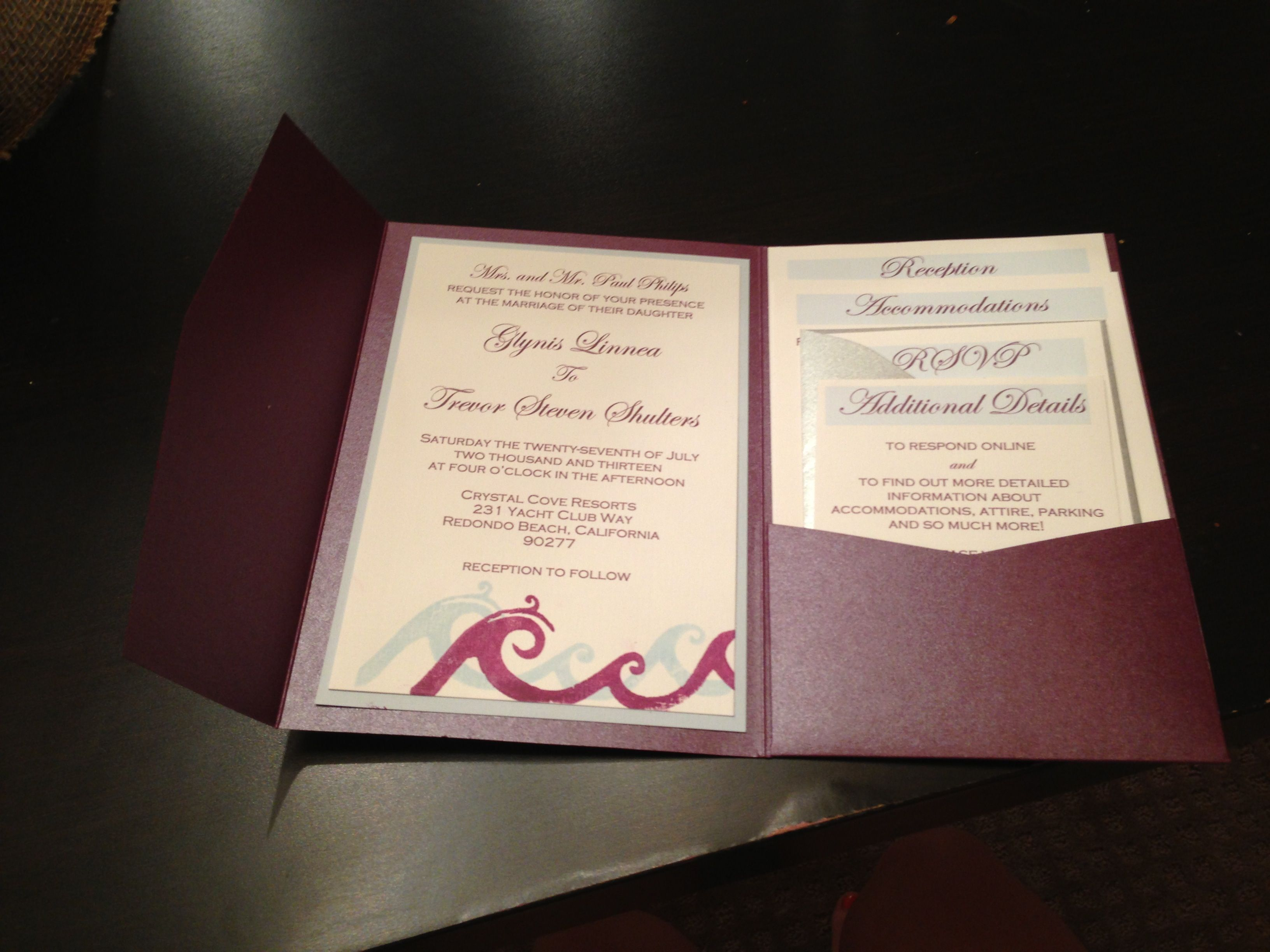 how to address wedding invitations inside envelope%0A DIY wedding invites