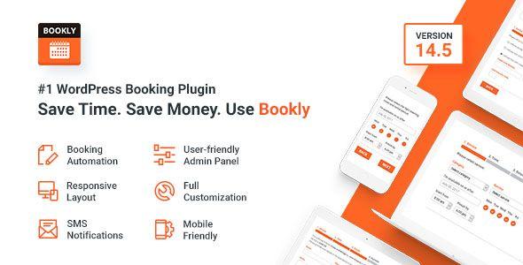 Bookly v14.5 #1 WordPress Booking Plugin Blogger Template | Web ...