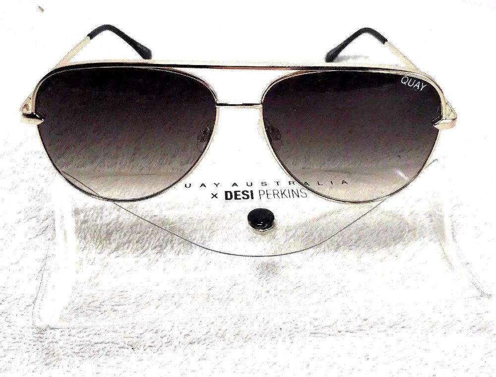 8f944821c1 Quay Australia X Desi Perkins Sahara 60mm Aviator Sunglasses