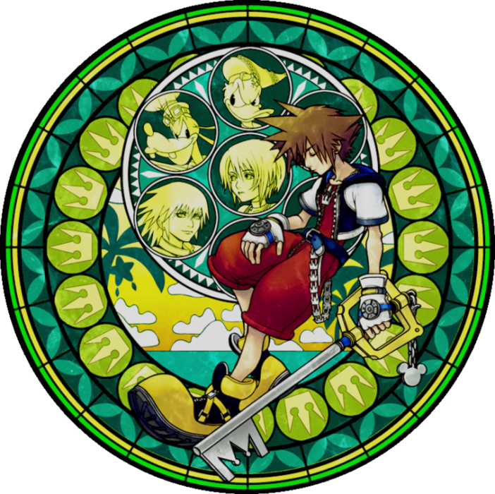 Kingdom Hearts Iphone Wallpaper: Stain Glass Sora - Kingdom Hearts.