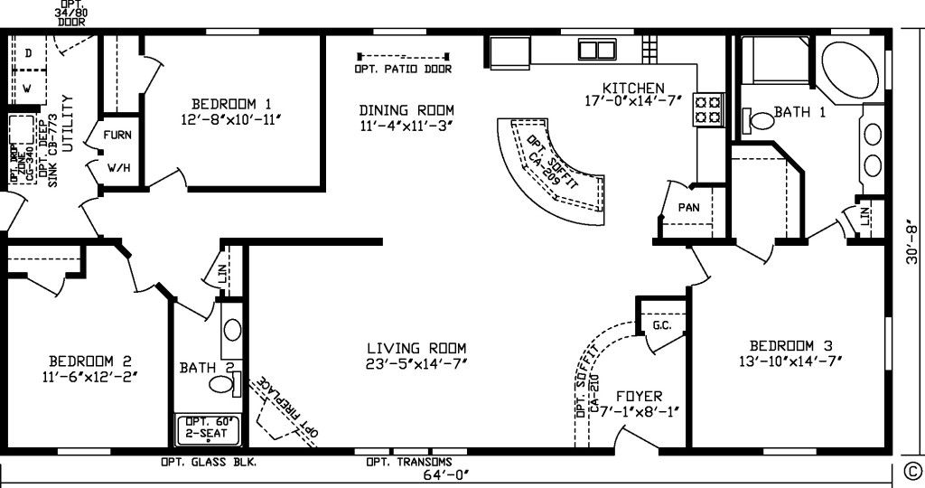 Image Result For 2000 Sq Ft Ranch House Open Concept Plans House Plans One Story Square House Plans Building Plans House