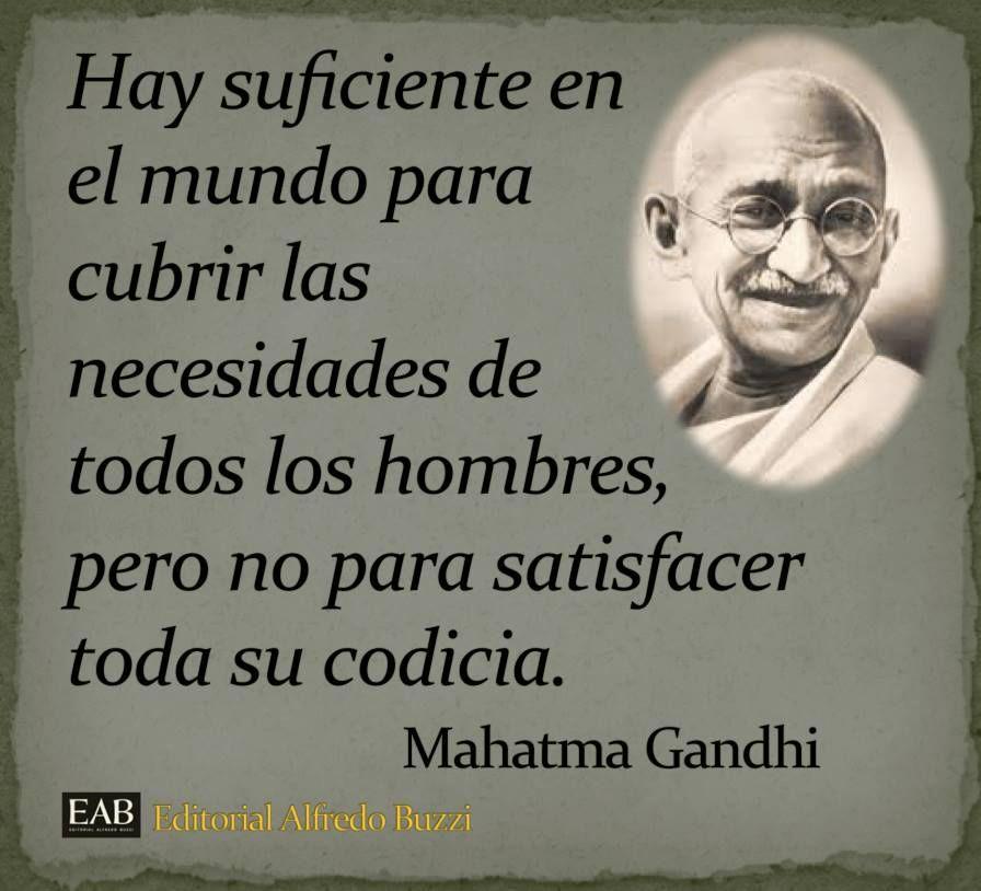 Mahatma Gandhi Citas Inspiradoras Frases Inspiradoras Y