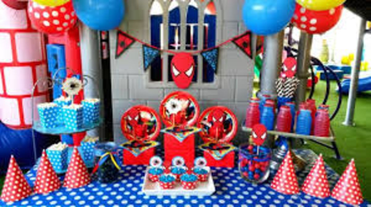 Headline for Spiderman Party Supplies - Ideas For A Spider-man Themed Party & Spiderman Party Supplies u2013 Ideas For A Spider-man Themed Party ...