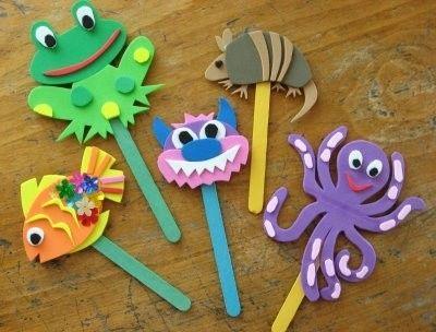 Segnalibro Bambini ~ Chiudipacco segnalibro con i disegni dei bambini craft per