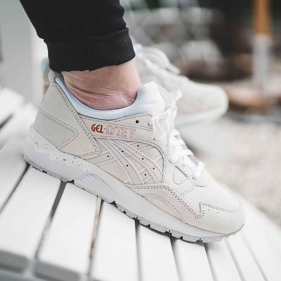 official photos 6688e 0743b GL4 in Off White from the Rose Gold Pack | Nice | Gel lyte 5 ...