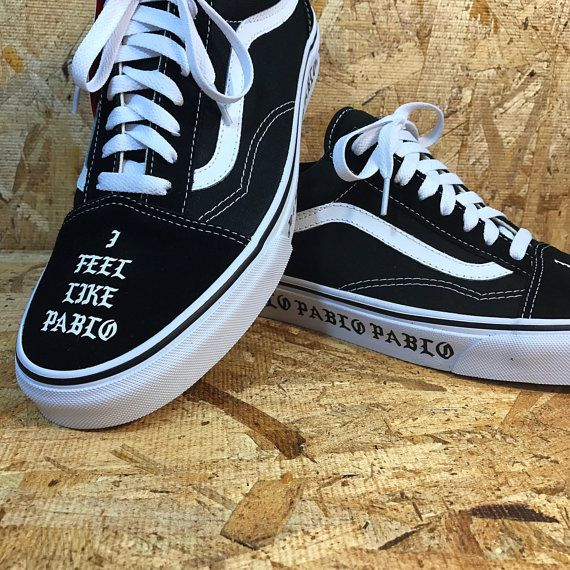 4e2800a6612b0c Custom Vans Pablo inspired by Pineboys on Etsy
