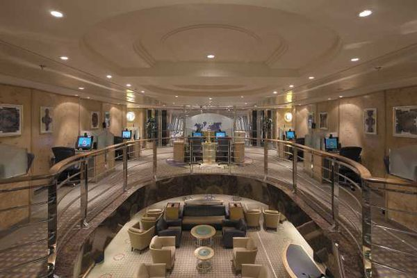 Explorer Of The Seas Pictures > Photo Of Internet Cafe