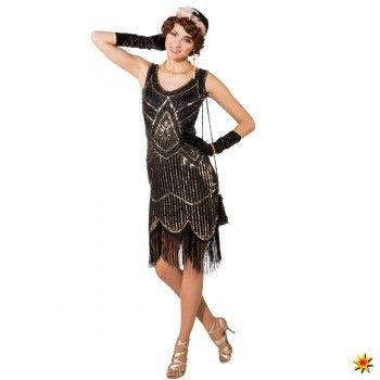 Dancing Kostum 20er Jahre Deluxe 20er Jahre Kleider Modestil 20er Kleid
