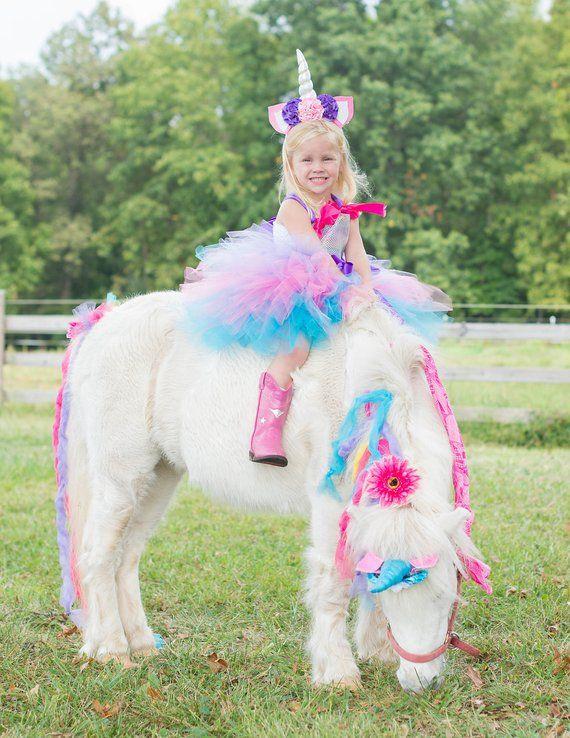 Unicorn Birthday Outfit , Unicorn Headband , Unicorn tutu dress, Unicorn horn headband, Unicorn Part