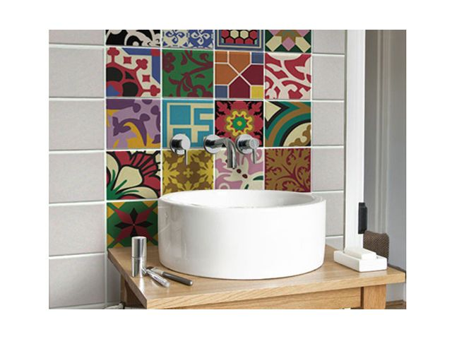 Decoração diferente para a sua casa: adesivos de azulejo, por Luiz Erdei em April 24, 2013
