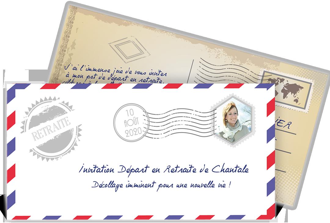 Carte Invitation Depart A La Retraite Decollage Imminent Invitation Retraite Carte Retraite Depart Retraite