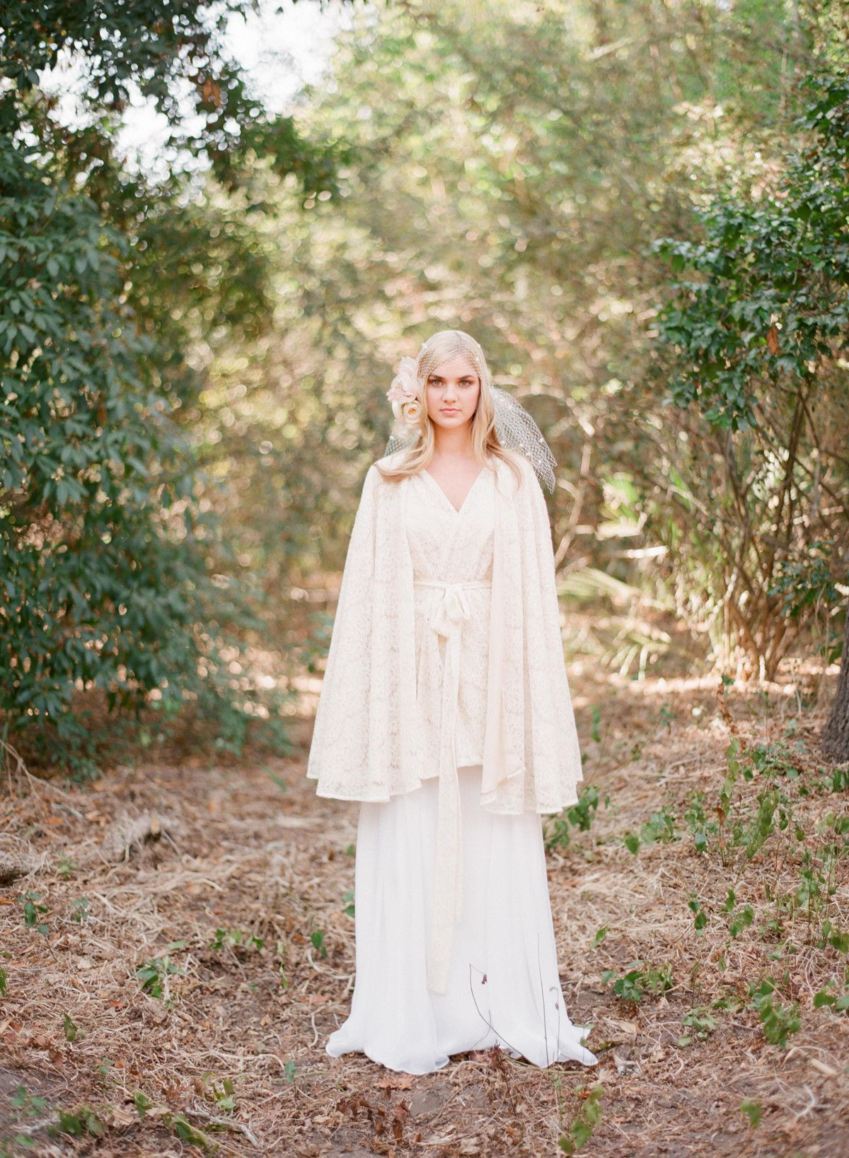 Lace dress cover up  Lavendula  Lace cape  All things fantasy magical mystical